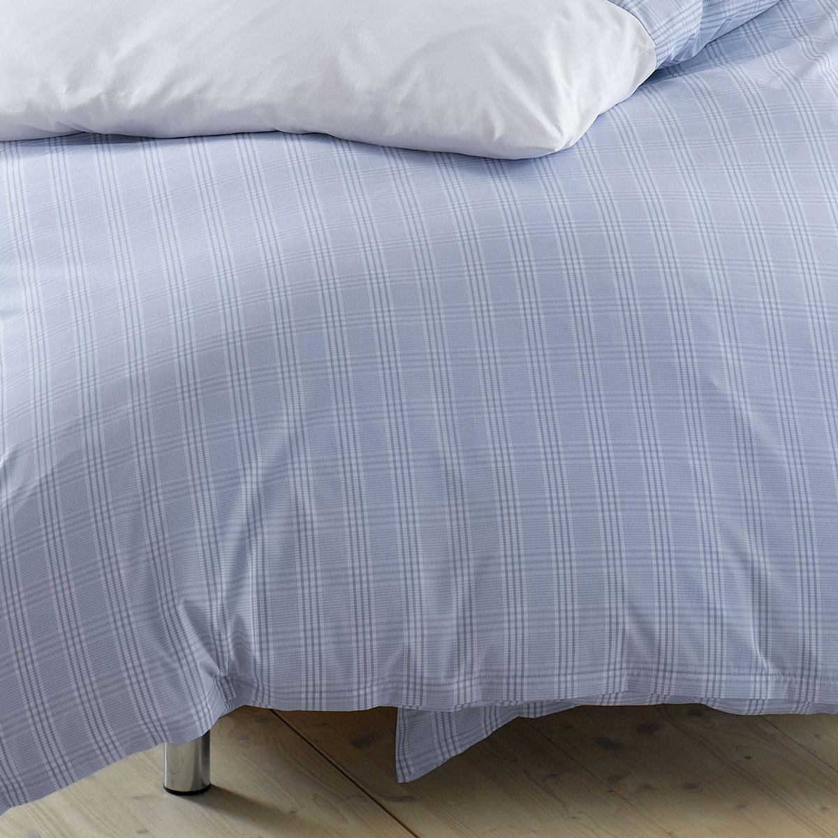lorena mako perkal bettw sche denver bleu g nstig online kaufen bei bettwaren shop. Black Bedroom Furniture Sets. Home Design Ideas