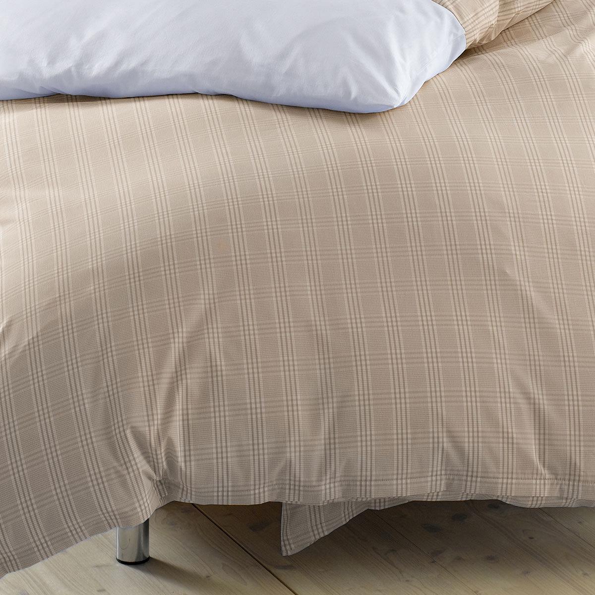 lorena mako perkal bettw sche denver braun g nstig online. Black Bedroom Furniture Sets. Home Design Ideas