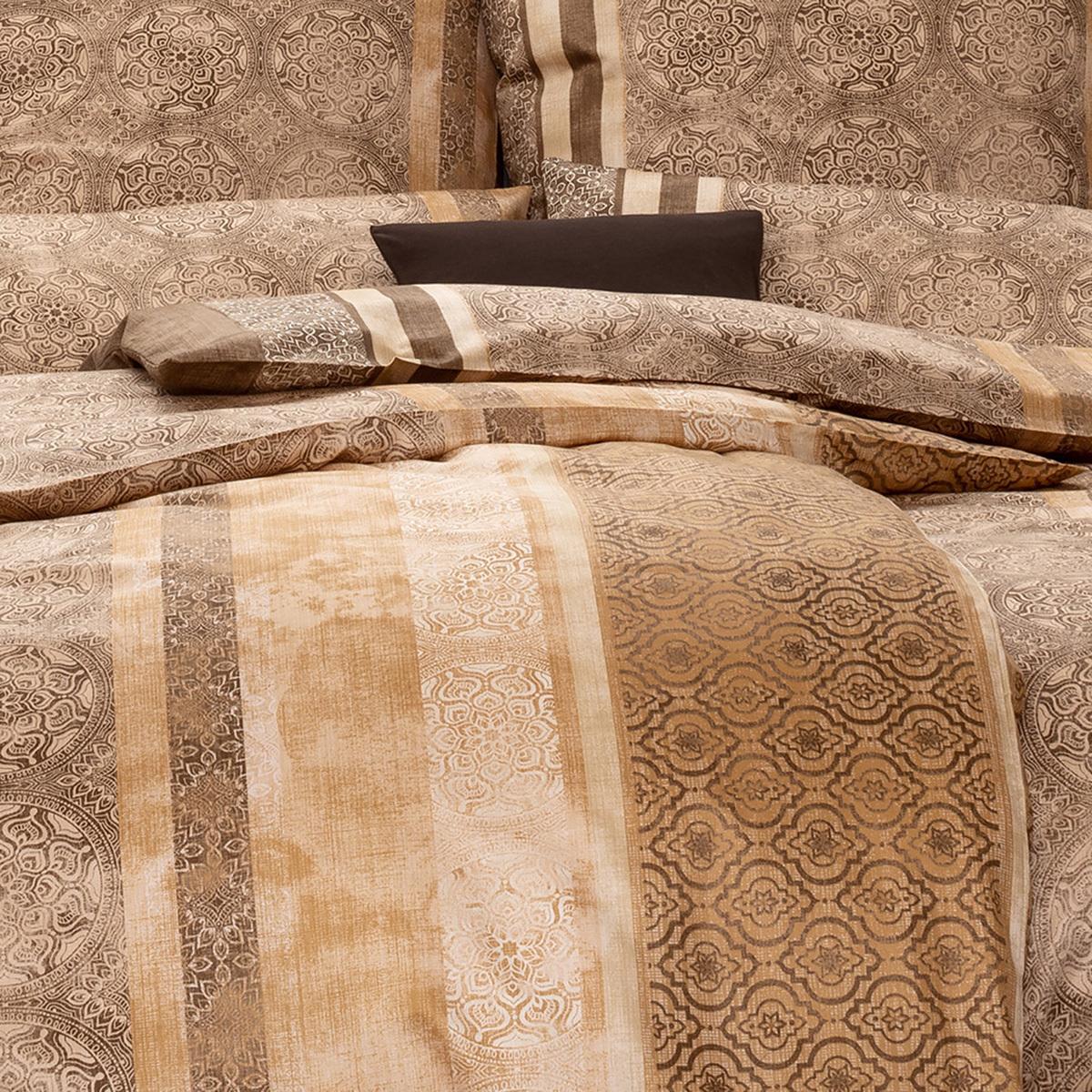 estella mako satin bettw sche mailo sand g nstig online kaufen bei bettwaren shop. Black Bedroom Furniture Sets. Home Design Ideas