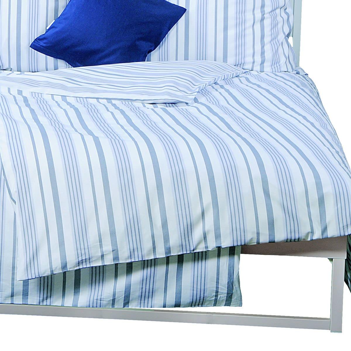 momm perkal bettw sche adela jeans g nstig online kaufen bei bettwaren shop. Black Bedroom Furniture Sets. Home Design Ideas