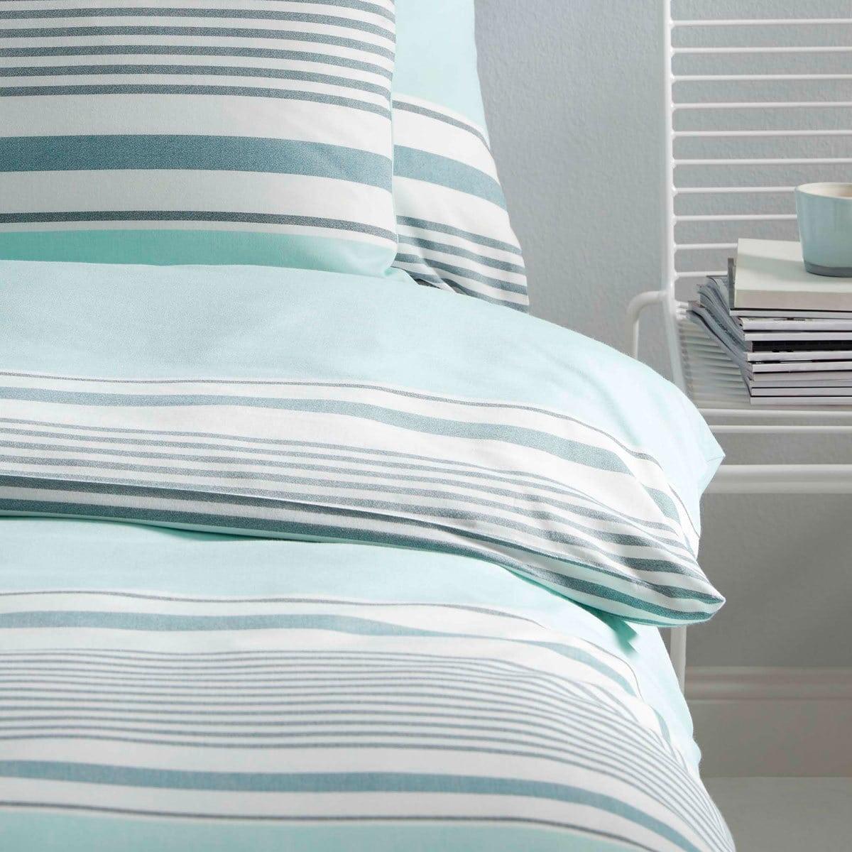 elegante piqu bettw sche comeback mint g nstig online kaufen bei bettwaren shop. Black Bedroom Furniture Sets. Home Design Ideas
