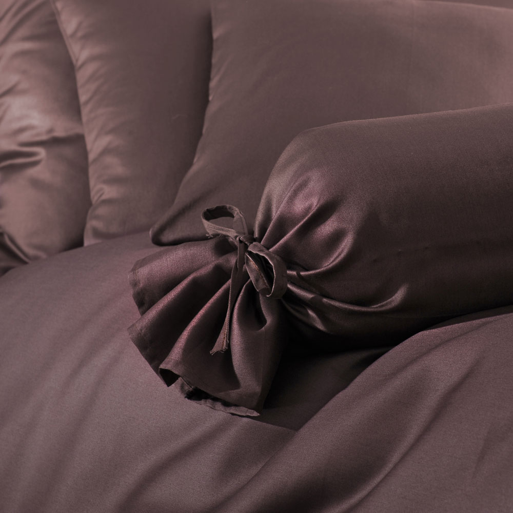 bettwarenshop uni mako satin bettw sche schoko g nstig online kaufen bei bettwaren shop. Black Bedroom Furniture Sets. Home Design Ideas