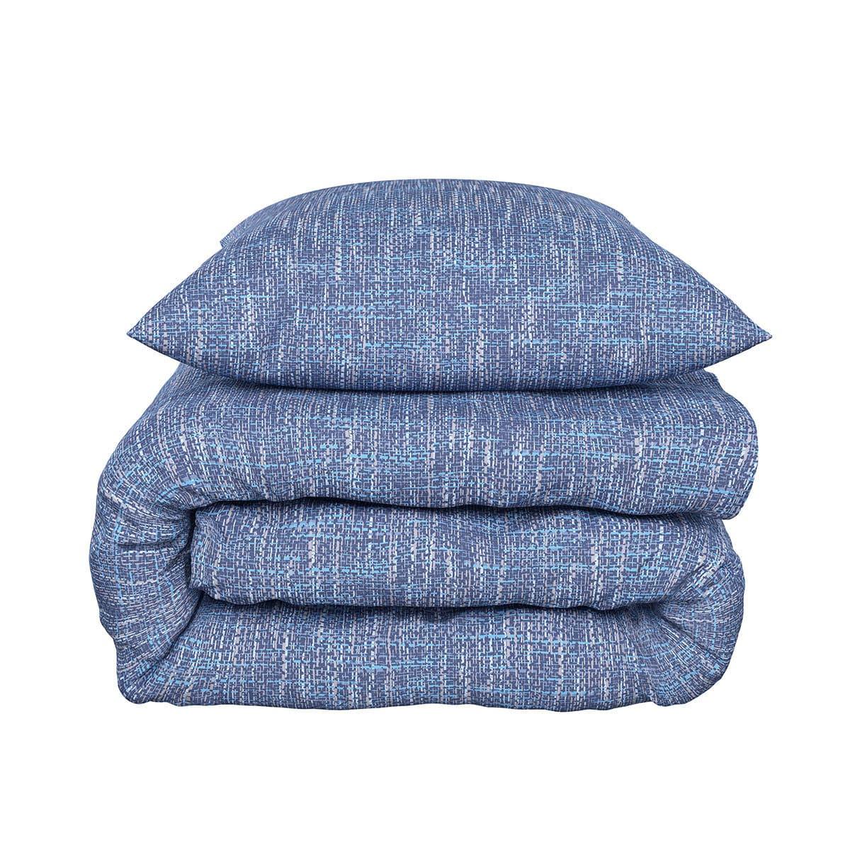 bettwarenshop bettw sche albi blau g nstig online kaufen bei bettwaren shop. Black Bedroom Furniture Sets. Home Design Ideas