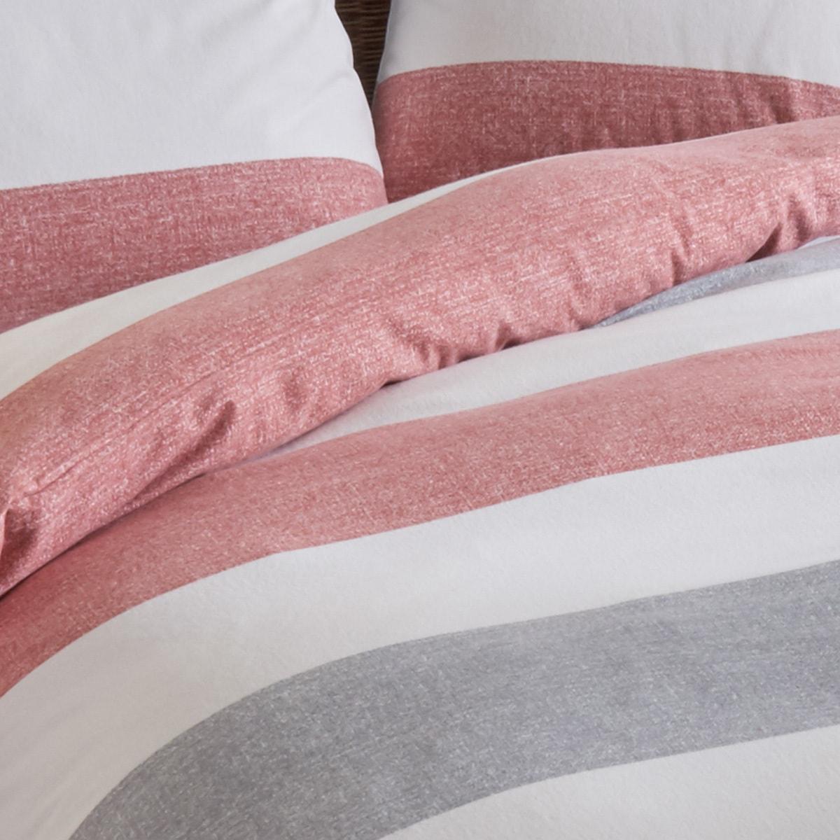 traumschlaf bettw sche biber streifen rot g nstig online. Black Bedroom Furniture Sets. Home Design Ideas