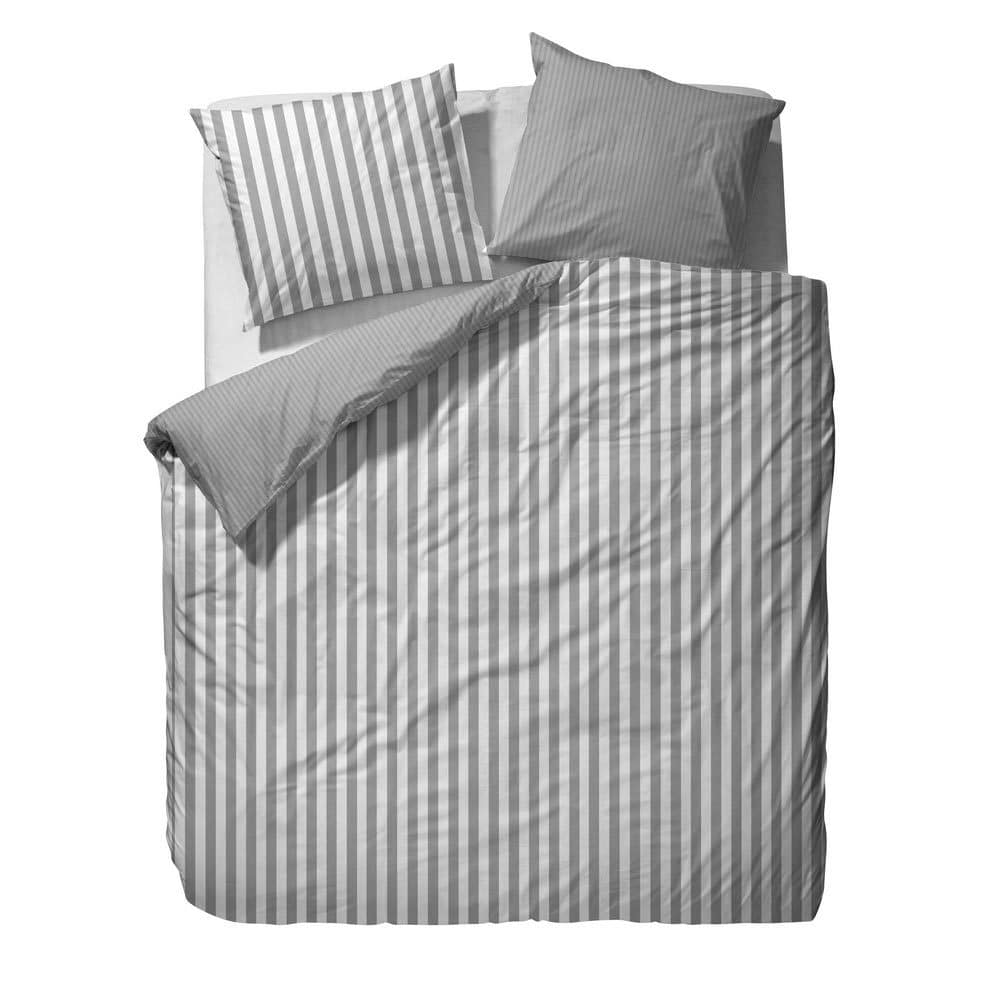 marc o polo bettw sche classic stripe grey g nstig online kaufen bei bettwaren shop. Black Bedroom Furniture Sets. Home Design Ideas