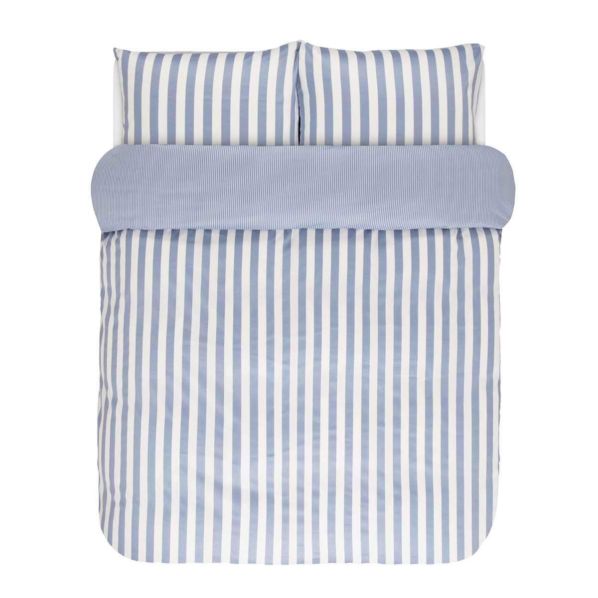 marc o polo bettw sche classic stripe pastel blue g nstig. Black Bedroom Furniture Sets. Home Design Ideas