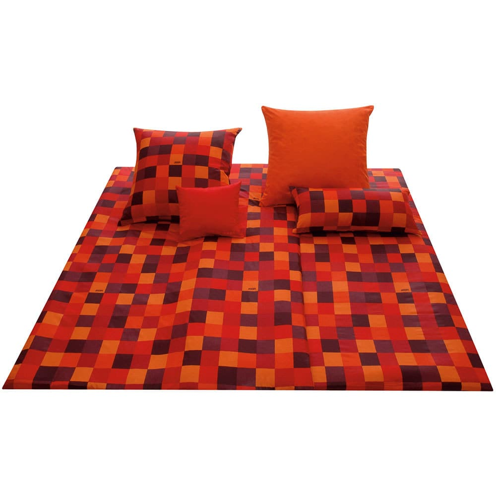 joop bettw sche mosaik rot 4003 1 g nstig online kaufen bei bettwaren shop. Black Bedroom Furniture Sets. Home Design Ideas