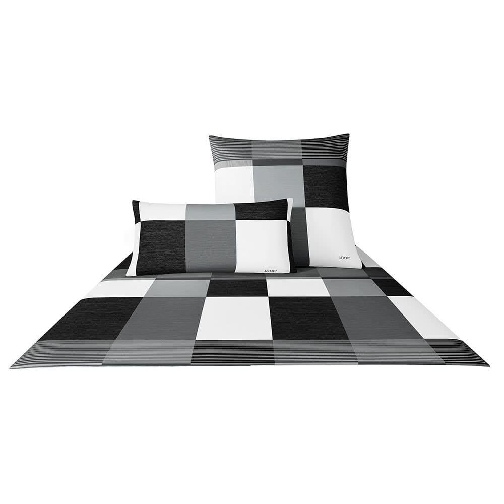 joop bettw sche plaza squares black g nstig online kaufen bei bettwaren shop. Black Bedroom Furniture Sets. Home Design Ideas