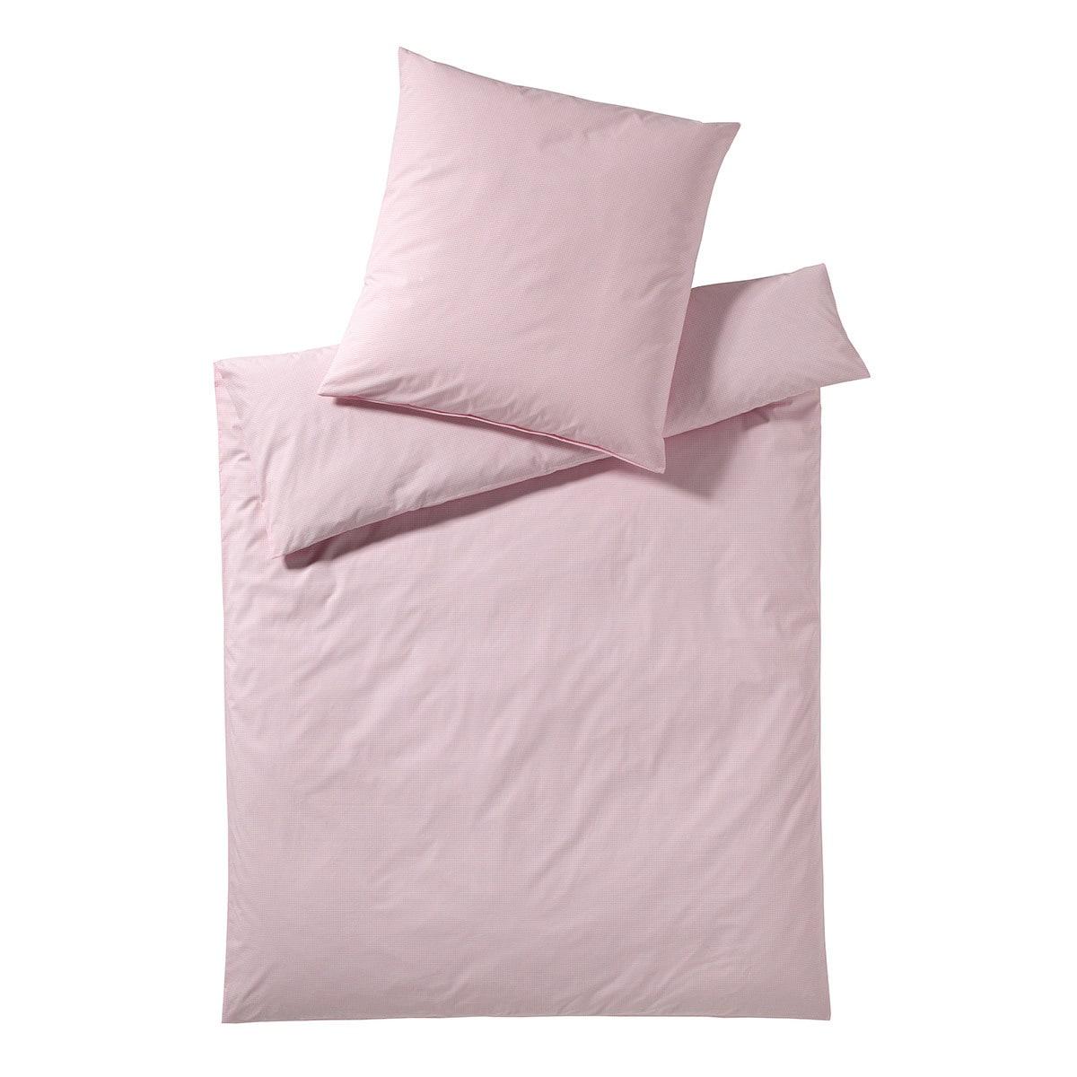 elegante bettw sche vichy rose g nstig online kaufen bei bettwaren shop. Black Bedroom Furniture Sets. Home Design Ideas