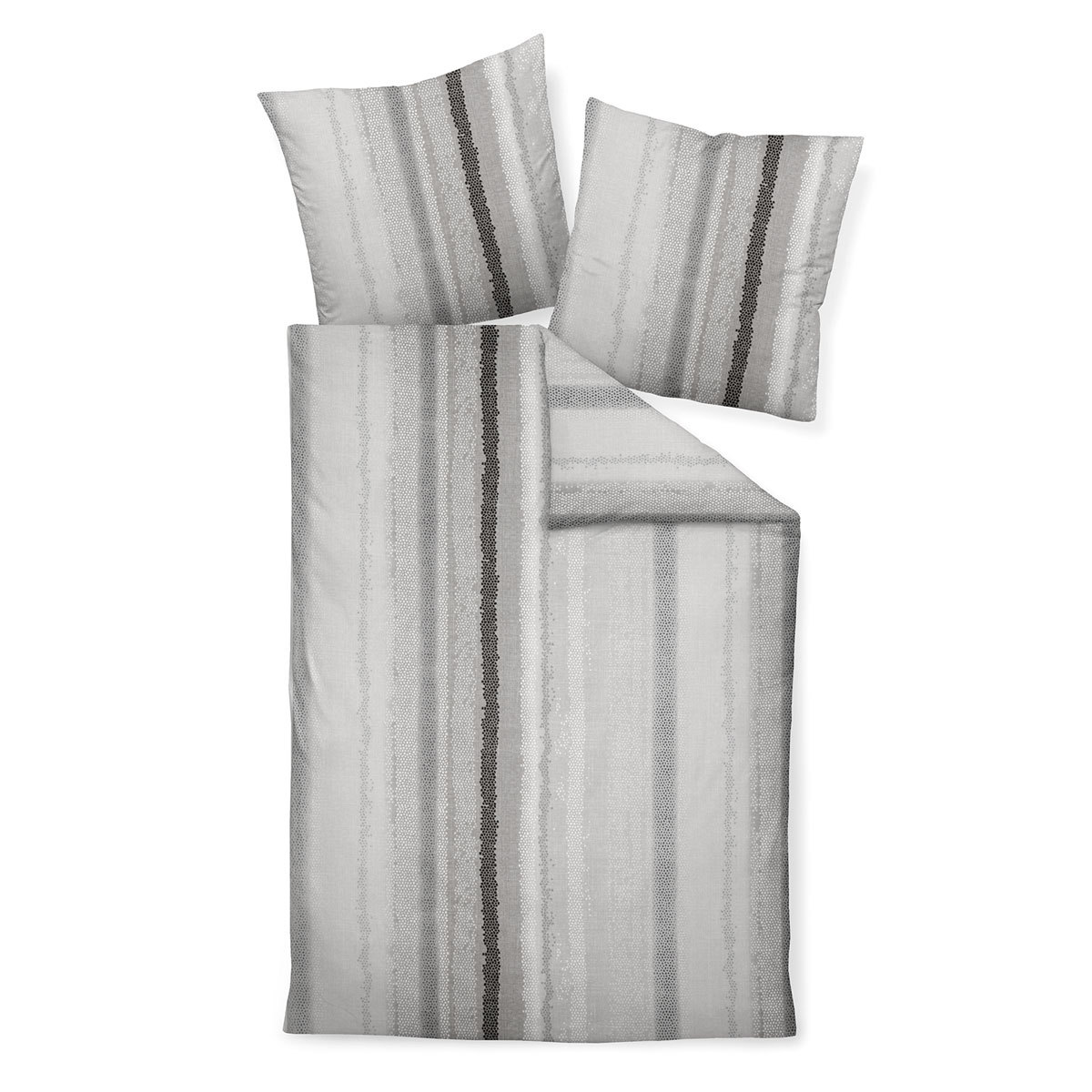 janine biber bettw sche davos 65042 08 platin taupe. Black Bedroom Furniture Sets. Home Design Ideas