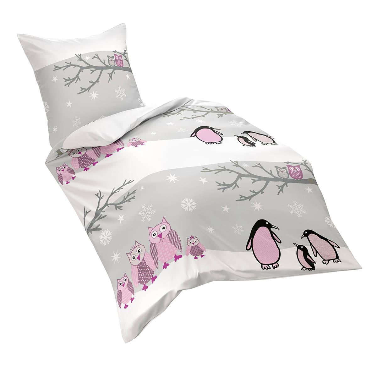 fleuresse biber bettw sche davos eule g nstig online kaufen bei bettwaren shop. Black Bedroom Furniture Sets. Home Design Ideas