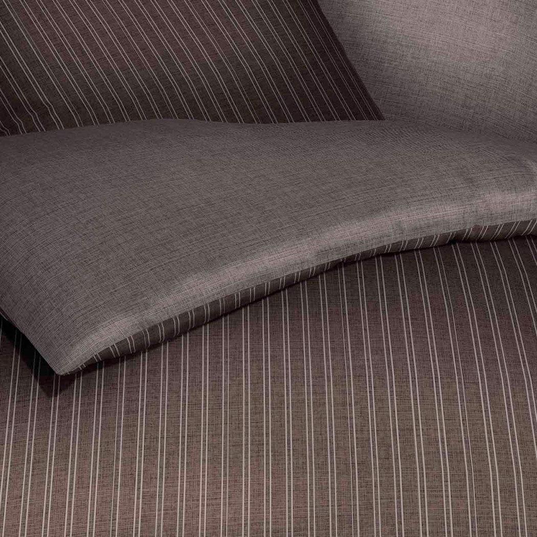 bettwarenshop biber bettw sche eternity combo braun g nstig online kaufen bei bettwaren shop. Black Bedroom Furniture Sets. Home Design Ideas
