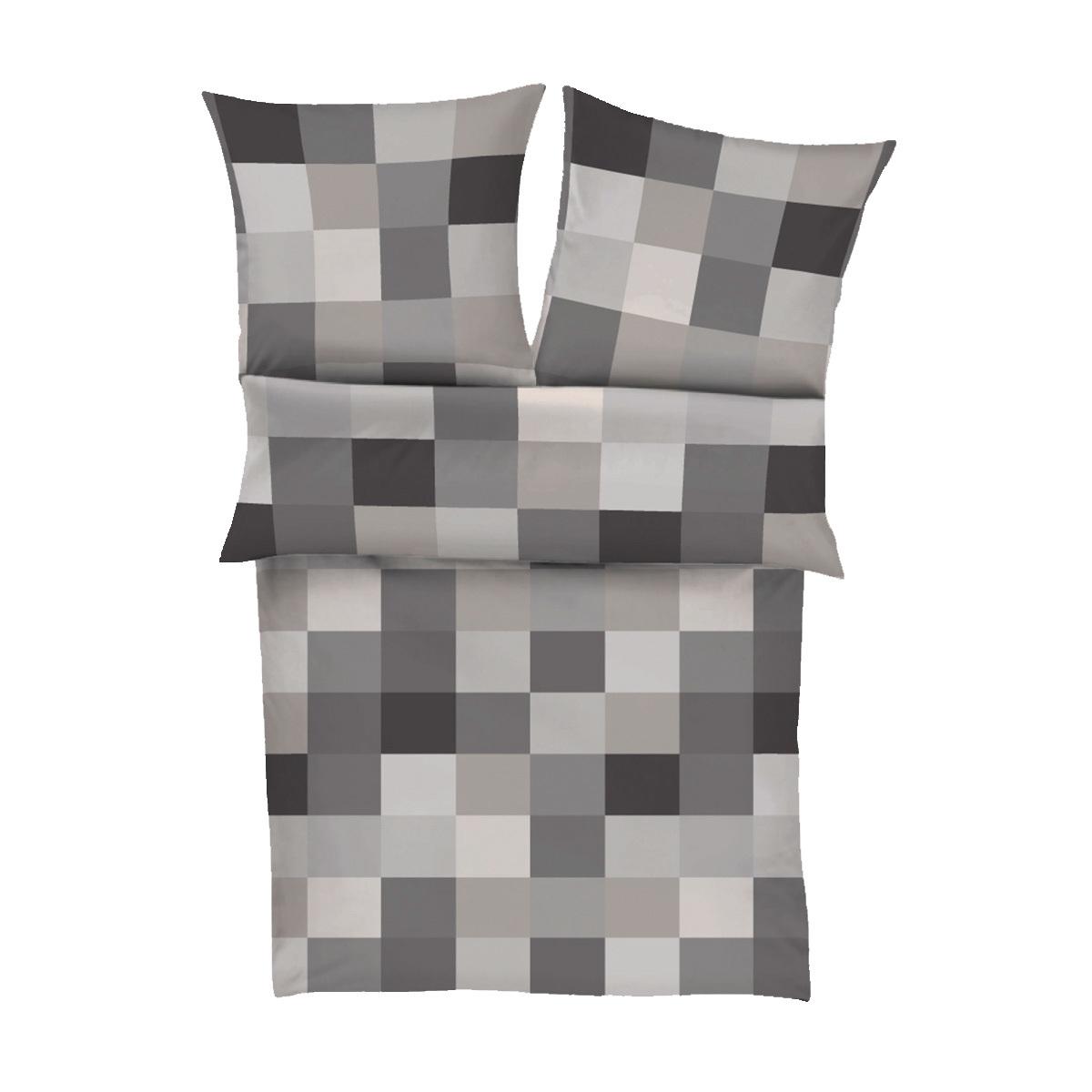 bugatti flanell bettw sche karo g nstig online kaufen bei bettwaren shop. Black Bedroom Furniture Sets. Home Design Ideas