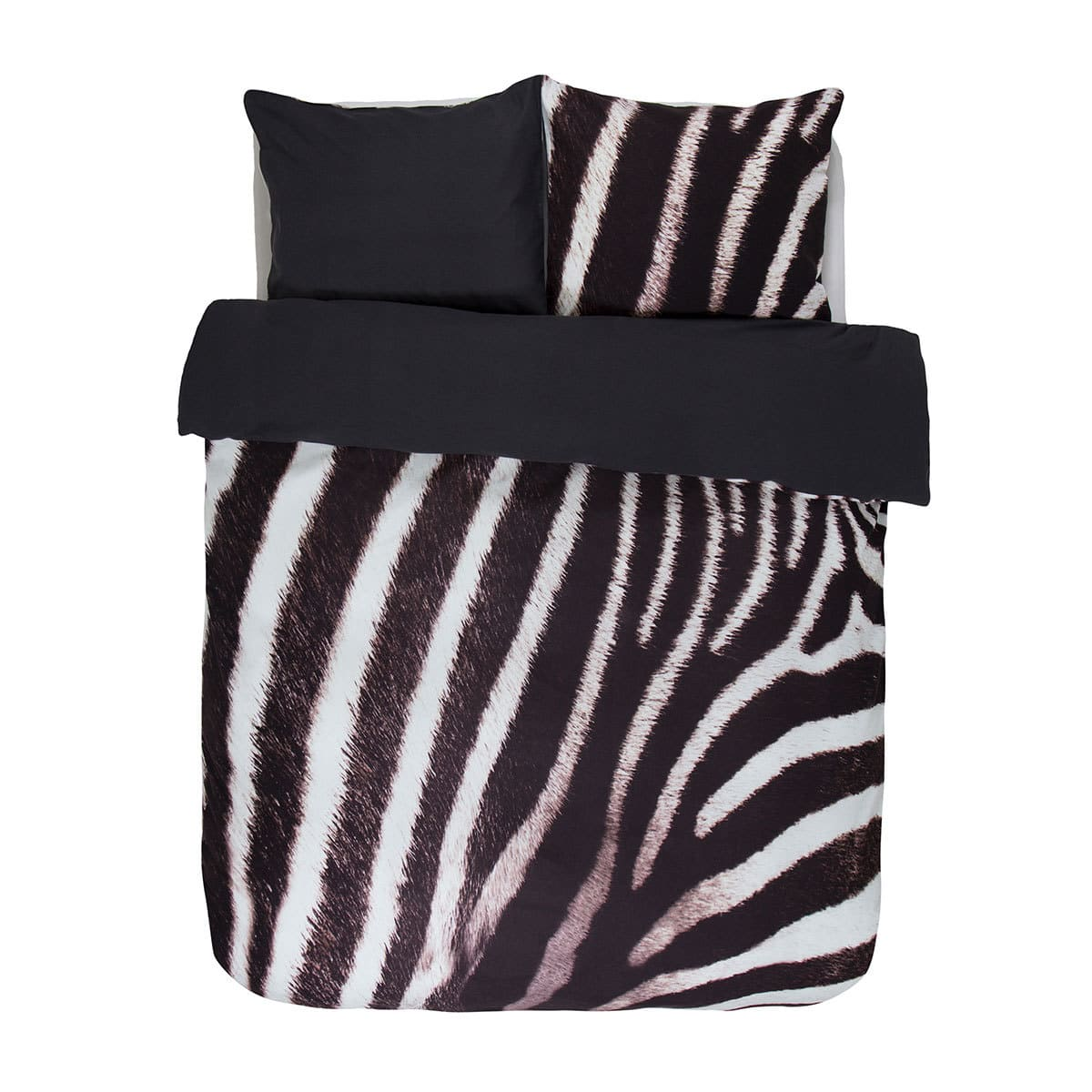 essenza flanell wendebettw sche zebra g nstig online. Black Bedroom Furniture Sets. Home Design Ideas