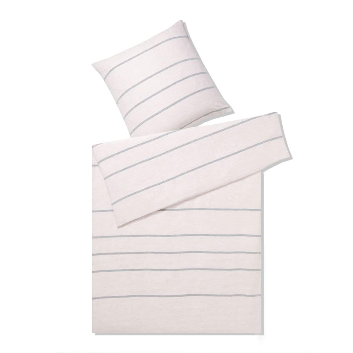 elegante leinen bettw sche relax rose g nstig online kaufen bei bettwaren shop. Black Bedroom Furniture Sets. Home Design Ideas