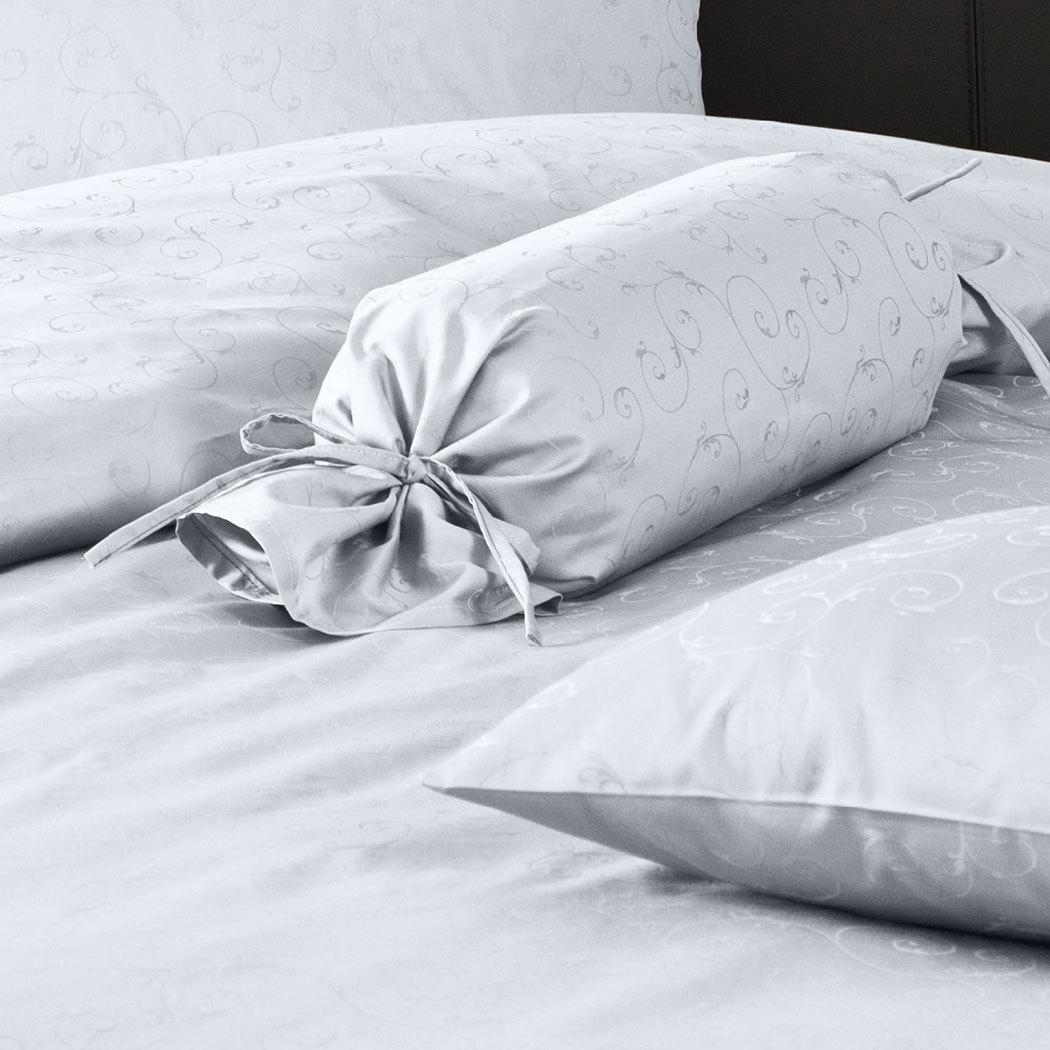 janine mako brokat damast bettw sche 1321 silber g nstig online kaufen bei bettwaren shop. Black Bedroom Furniture Sets. Home Design Ideas