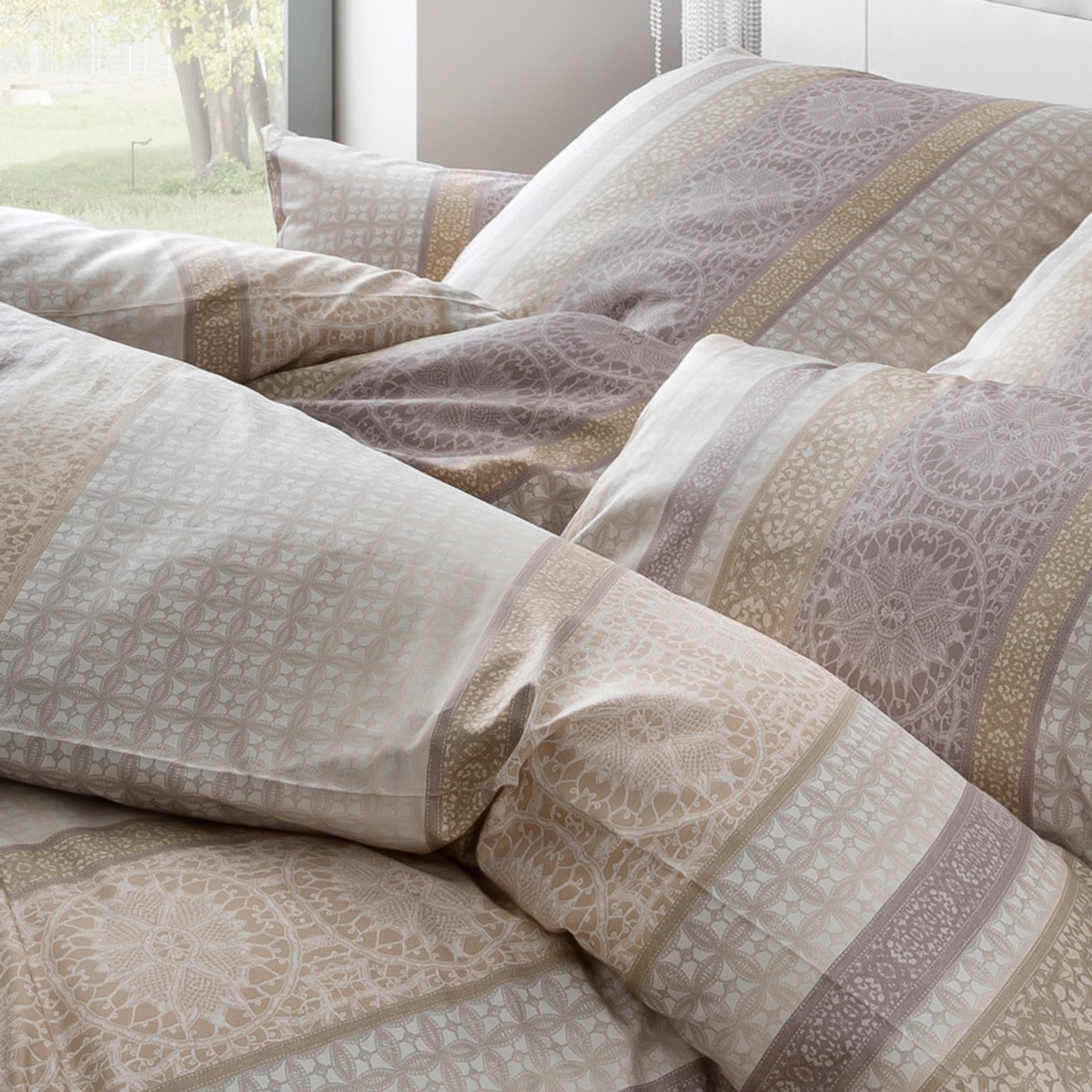 estella mako interlock jersey bettw sche 6252 095 bahama. Black Bedroom Furniture Sets. Home Design Ideas