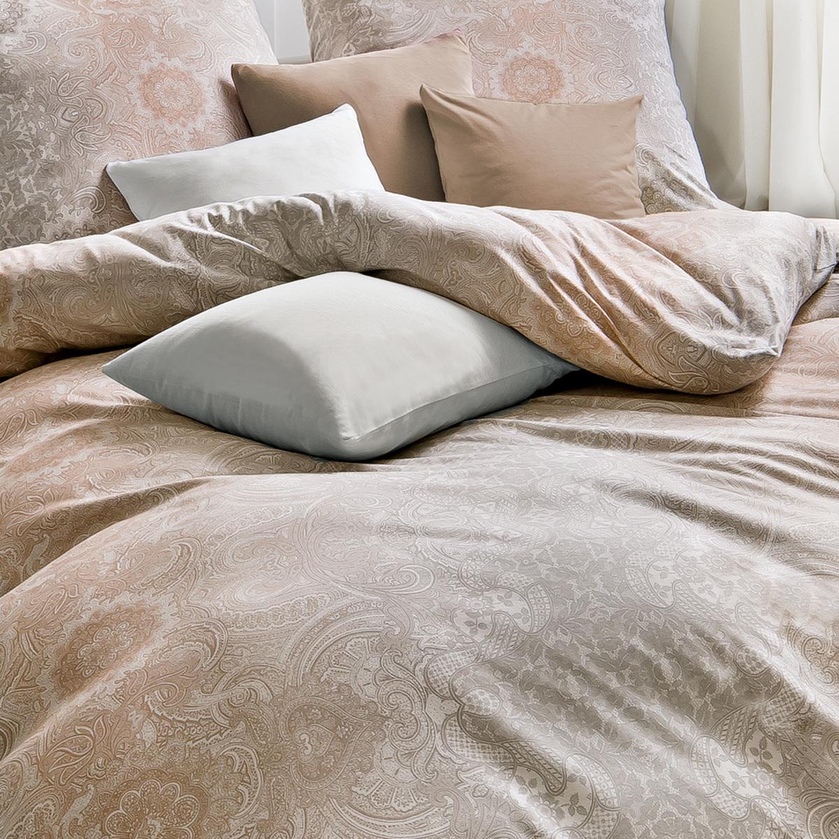 estella mako interlock jersey bettw sche 6791 180 sand g nstig online kaufen bei bettwaren shop. Black Bedroom Furniture Sets. Home Design Ideas