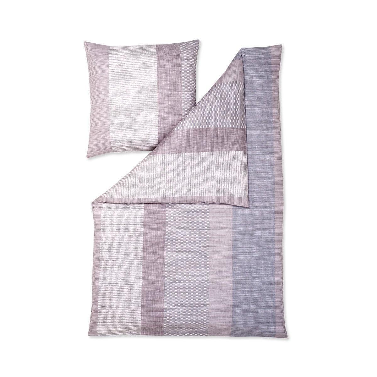 estella mako interlock jersey bettw sche jona mauve g nstig online kaufen bei bettwaren shop. Black Bedroom Furniture Sets. Home Design Ideas
