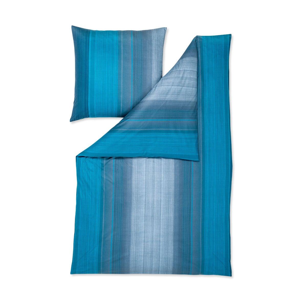 estella mako interlock jersey bettw sche luke petrol. Black Bedroom Furniture Sets. Home Design Ideas