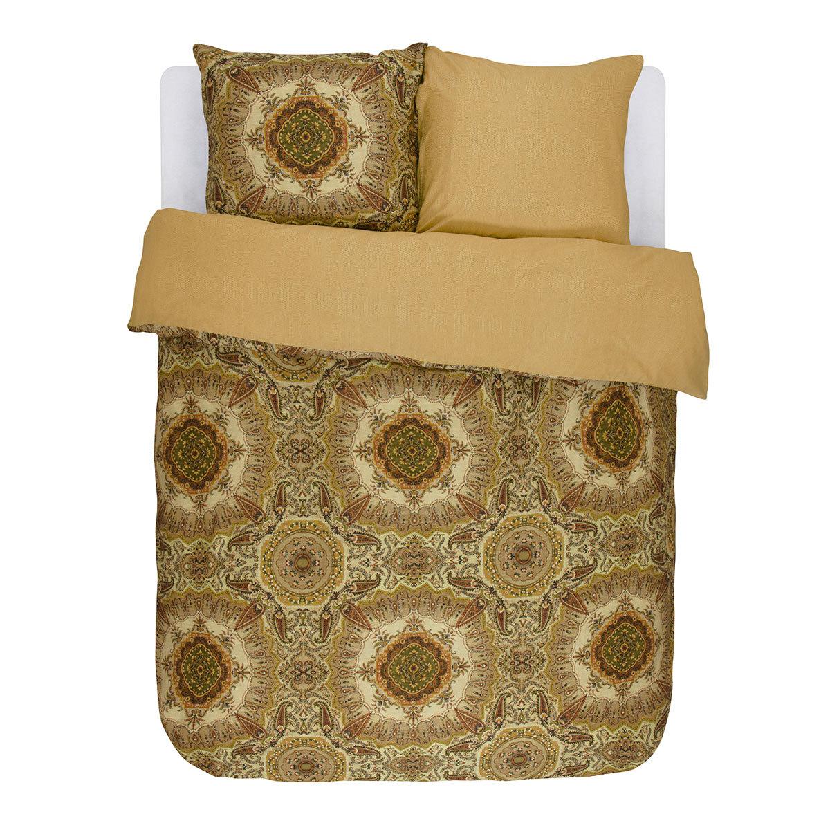 essenza mako satin bettw sche cadiz golden yellow g nstig online kaufen bei bettwaren shop. Black Bedroom Furniture Sets. Home Design Ideas