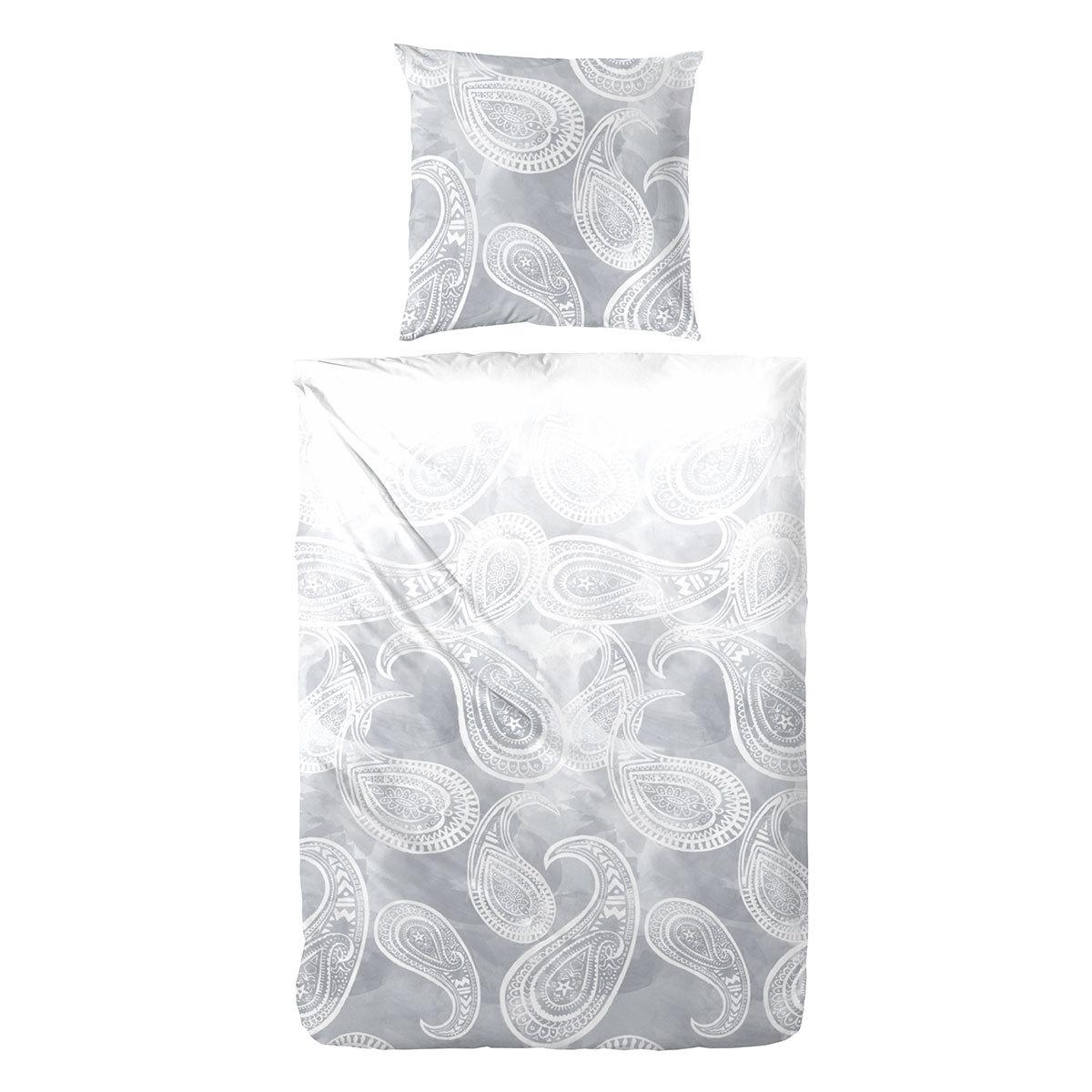 enrico coss mako satin bettw sche freiburg silber g nstig online kaufen bei bettwaren shop. Black Bedroom Furniture Sets. Home Design Ideas