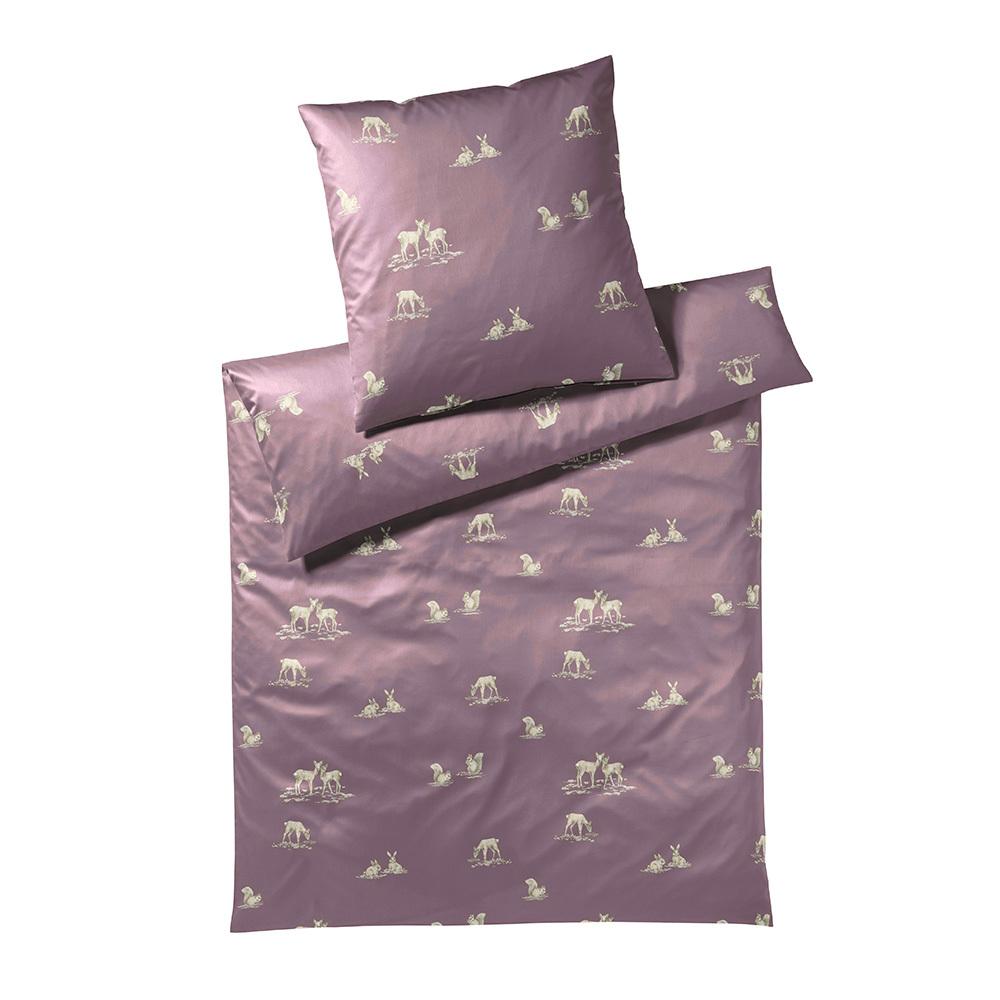 elegante mako satin bettw sche likeable mauve g nstig. Black Bedroom Furniture Sets. Home Design Ideas