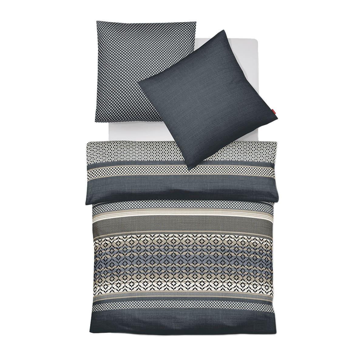 fleuresse mako satin bettw sche modern life 113776 0001. Black Bedroom Furniture Sets. Home Design Ideas