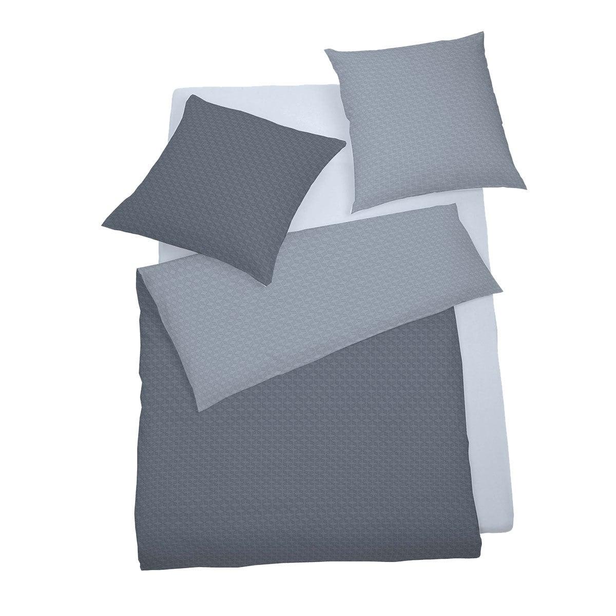 schlafgut mako satin bettw sche negro blau g nstig online kaufen bei bettwaren shop. Black Bedroom Furniture Sets. Home Design Ideas