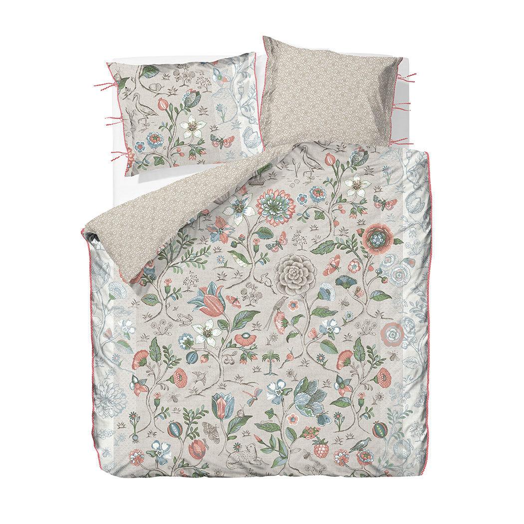 pip studio perkal wendebettw sche spring to life khaki g nstig online kaufen bei bettwaren shop. Black Bedroom Furniture Sets. Home Design Ideas