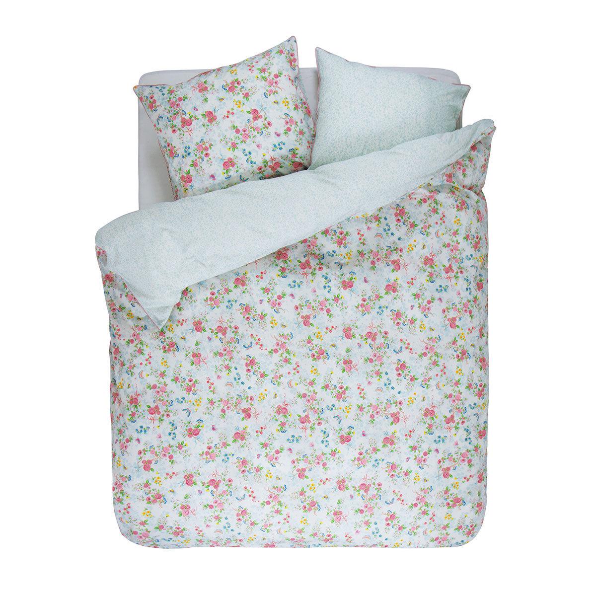 pip studio pip bettw sche chinese rose bouquet white. Black Bedroom Furniture Sets. Home Design Ideas