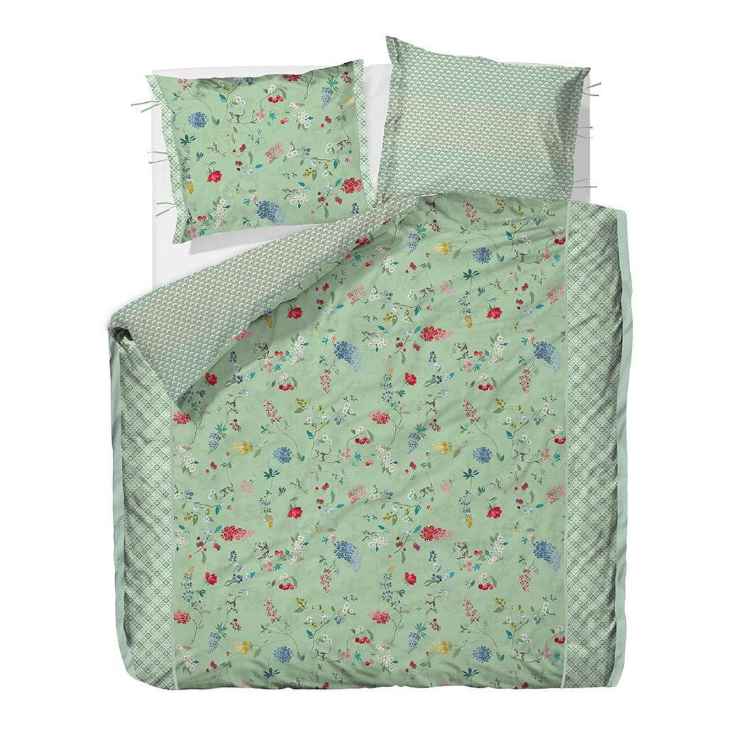 pip studio pip perkal wendebettw sche hummingbirds green g nstig online kaufen bei bettwaren shop. Black Bedroom Furniture Sets. Home Design Ideas