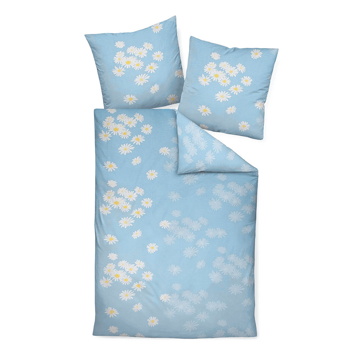 janine seersucker bettw sche tango 20022 02 blau g nstig. Black Bedroom Furniture Sets. Home Design Ideas