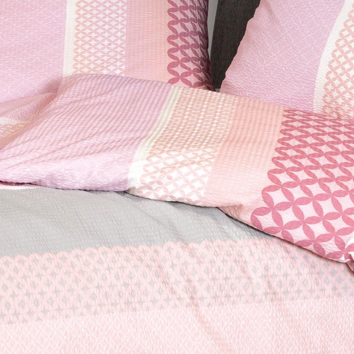 janine seersucker bettw sche tango 20043 01 rosa g nstig online kaufen bei bettwaren shop. Black Bedroom Furniture Sets. Home Design Ideas