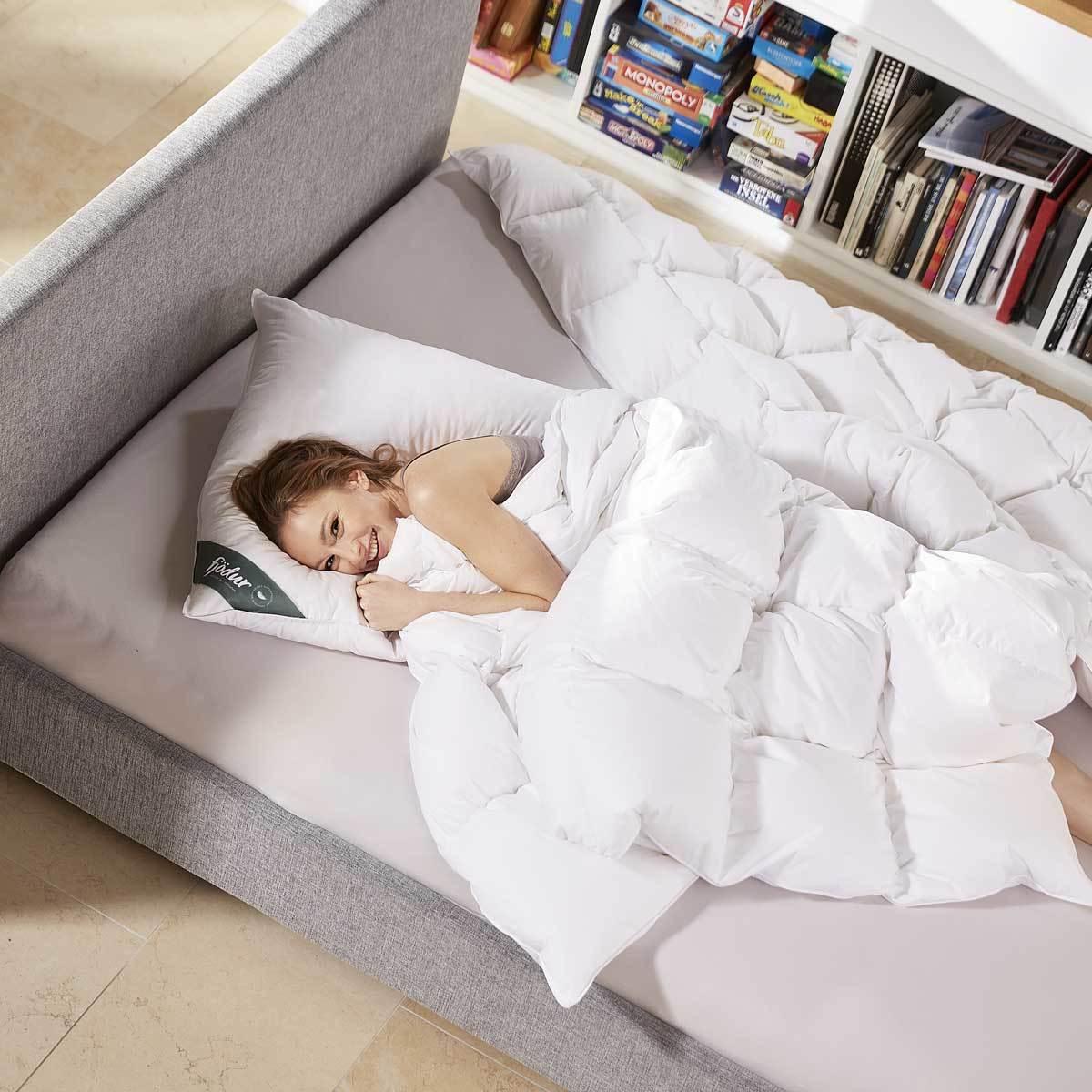 fj dur feder kopfkissen 70 federn 30 daunen g nstig online kaufen bei bettwaren shop. Black Bedroom Furniture Sets. Home Design Ideas